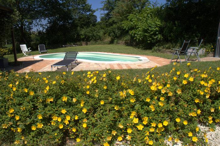 Veduta zona piscina